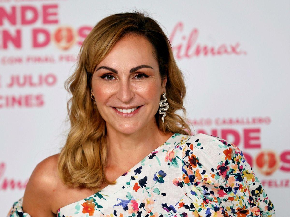 Foto: Ana Milán anuncia que está soltera en la presentación de la película 'Donde caben dos'. (EFE)