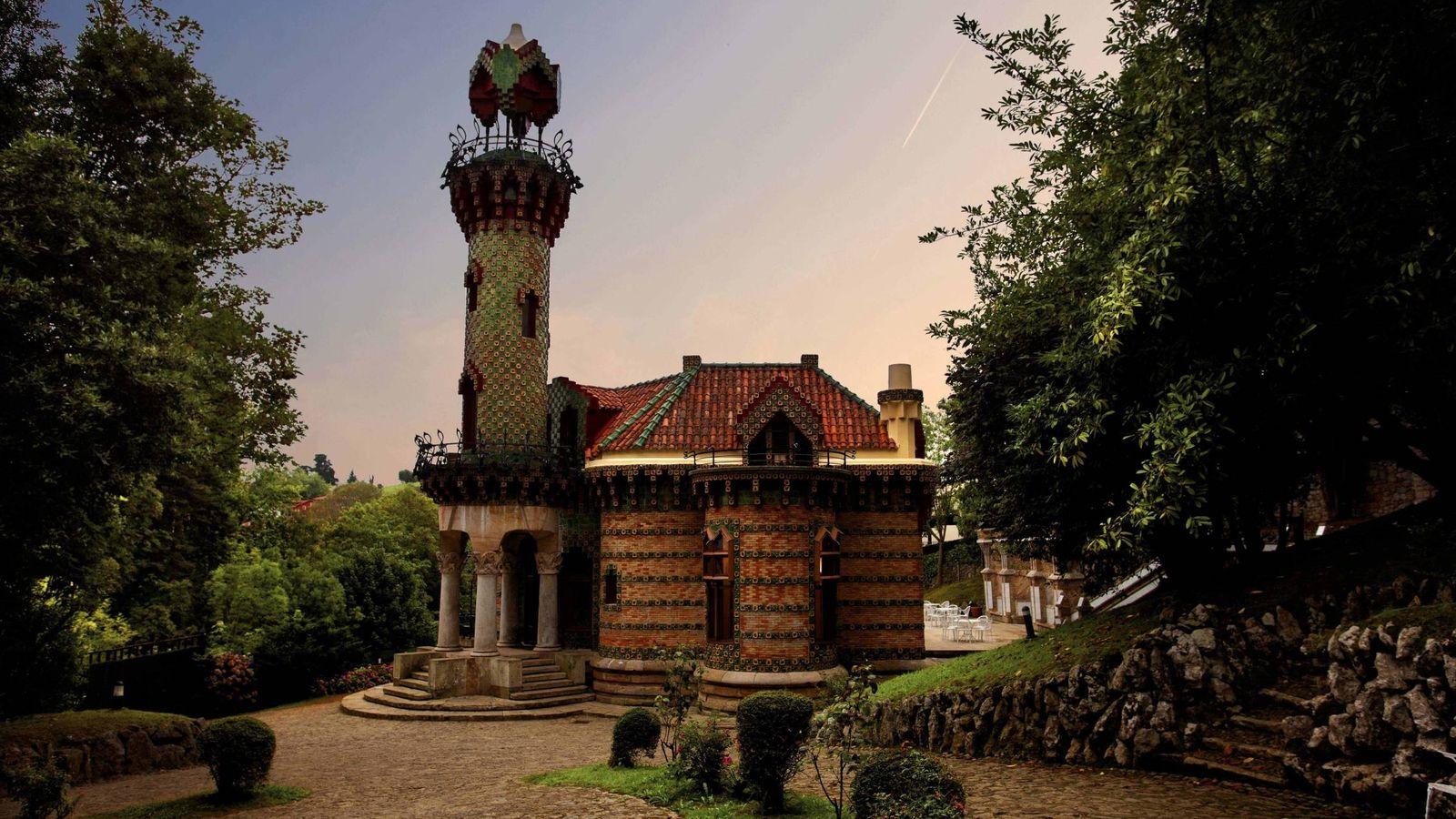 Foto: En Comillas también Gaudí hizo de las suyas. (Archivo Gráfico del Capricho de Gaudí)