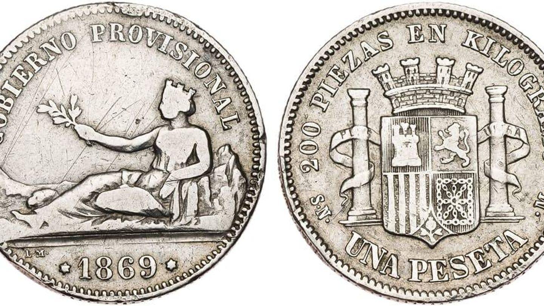 Imagen de la primera peseta (blognumismatico.com)