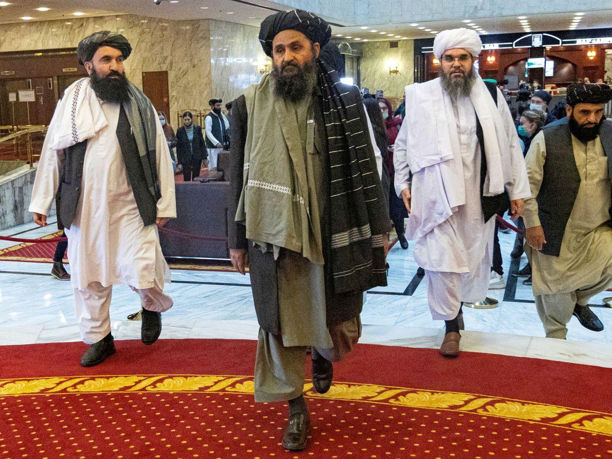 Foto: Foto de archivo del mulá Baradar en Doha (Reuters)