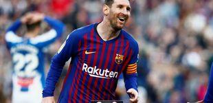 Post de La resistencia es Leo Messi