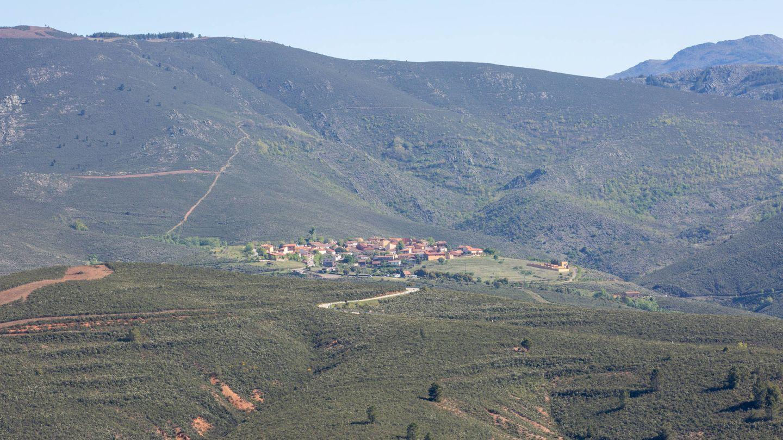Vista de El Atazar, en la Sierra Norte de Madrid. (D.B.)