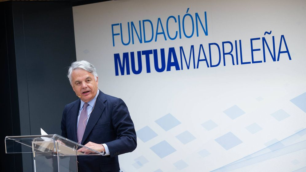 Foto: Ignacio Garralda, presidente de Mutua Madrileña.