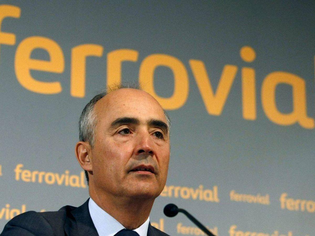 Foto: Rafael del Pino, presidente y principal accionista de Ferrovial.
