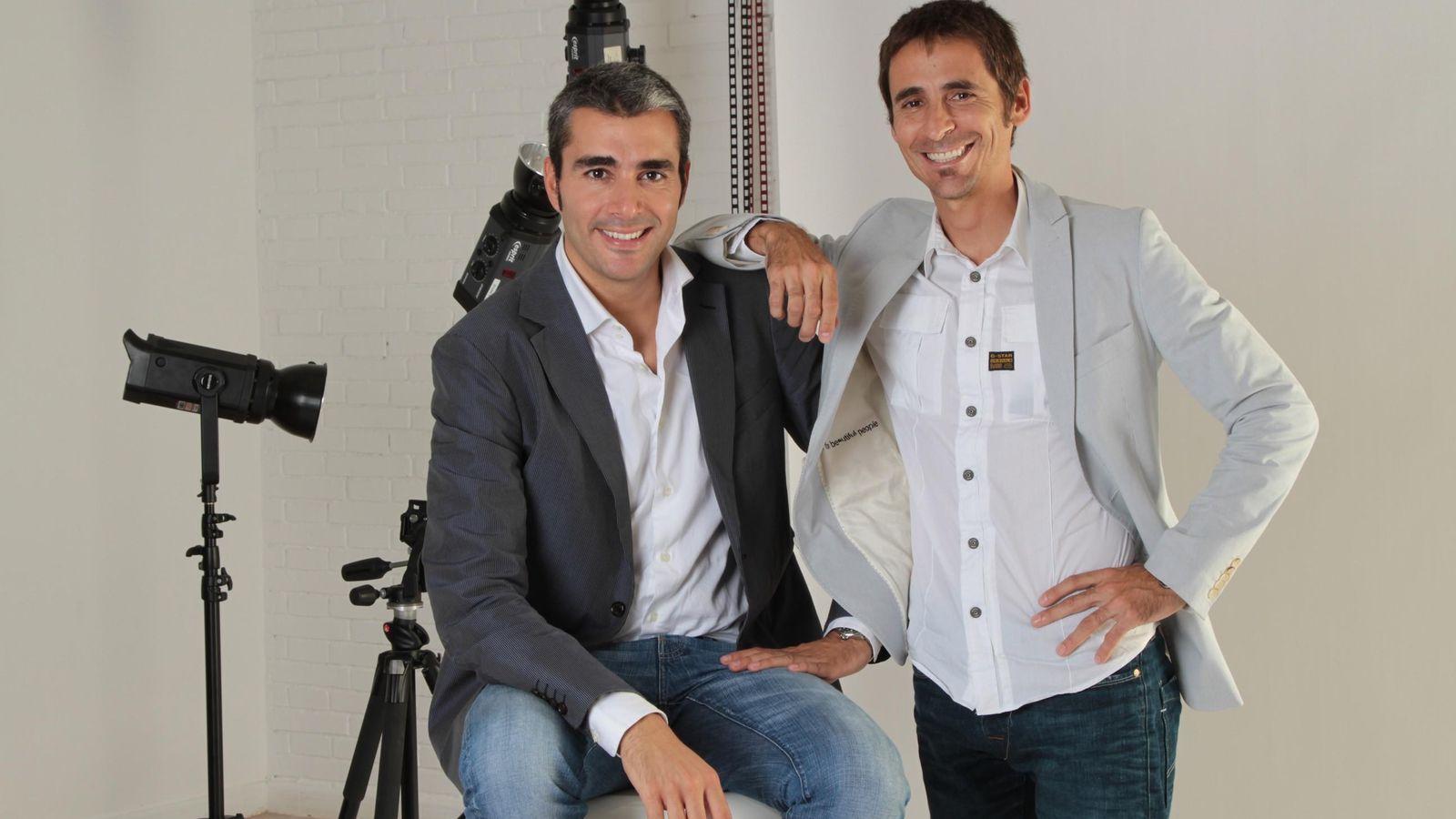 Foto: Lucas Carné y José Manuel Villanueva, fundadores de Privalia (Fotografía: Privalia).