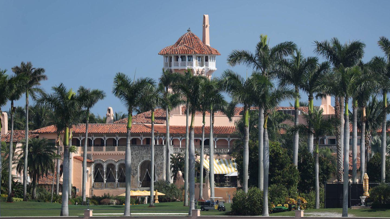 El resort Mar-a-Lago de Trump en Florida. (Getty)