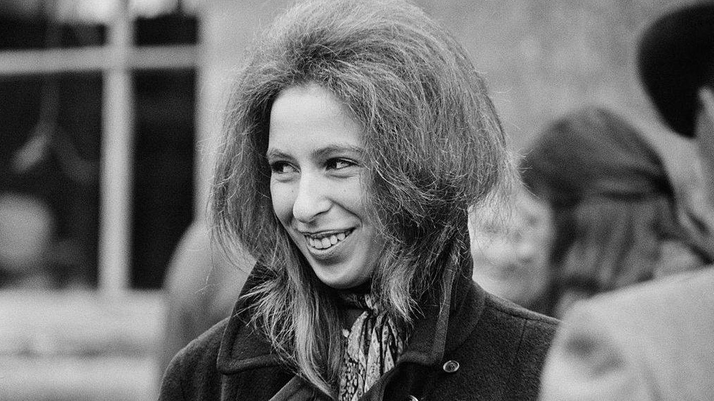 La princesa, fotografiada en abril de 1971. (Getty)