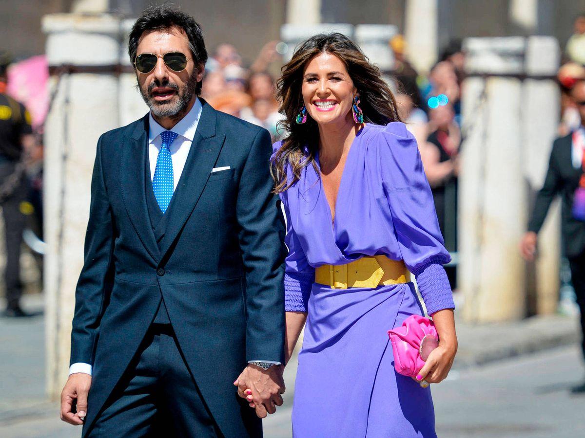 Foto: Nuria Roca y su marido. (Getty)