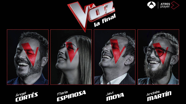 Cartel promocional de los finalistas de 'La Voz'. (Atresmedia Televisión)