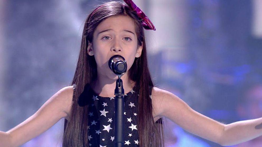 La lírica Melani, ganadora de 'La Voz Kids 4', lleva a Melendi a su primer triunfo