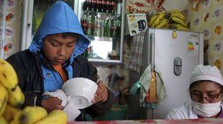 Los niños 'ganan': Bolivia, diez años, edad legal para trabajar