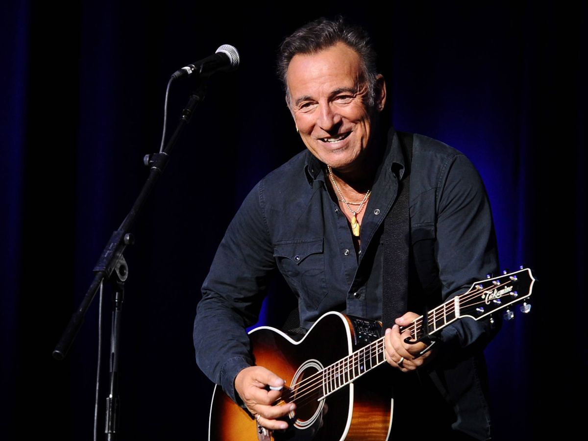 Foto:  Bruce Springsteen. (Getty)