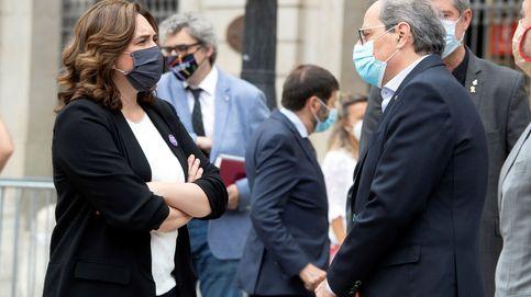Colau y Quim Torra, unidos en oponerse a la ampliación del aeropuerto de El Prat