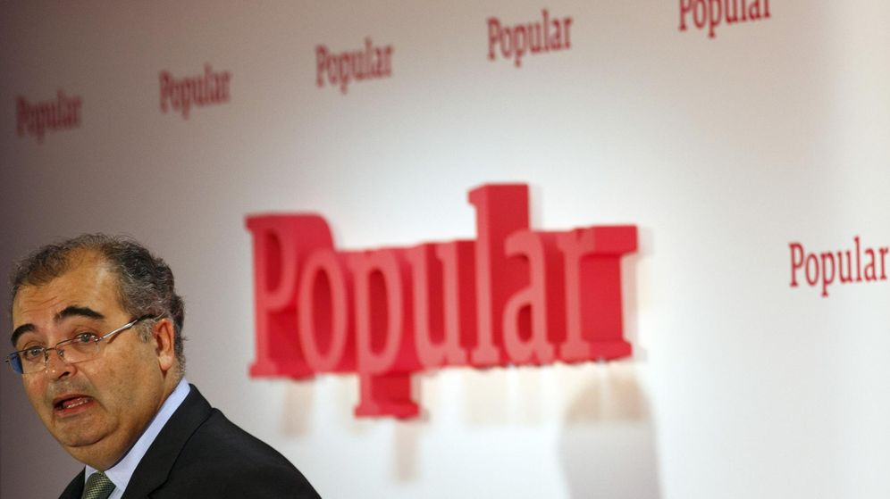 Foto: Ángel Ron, presidente del Banco Popular. (EFE)