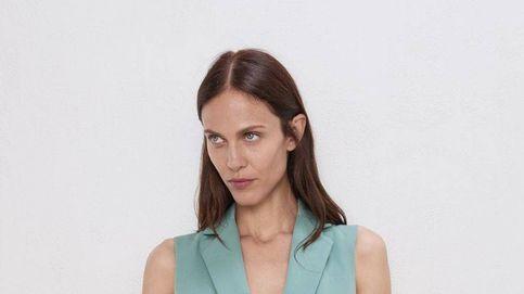 El traje para reinar en la oficina y que más estiliza está en Zara (y es precioso de verdad)