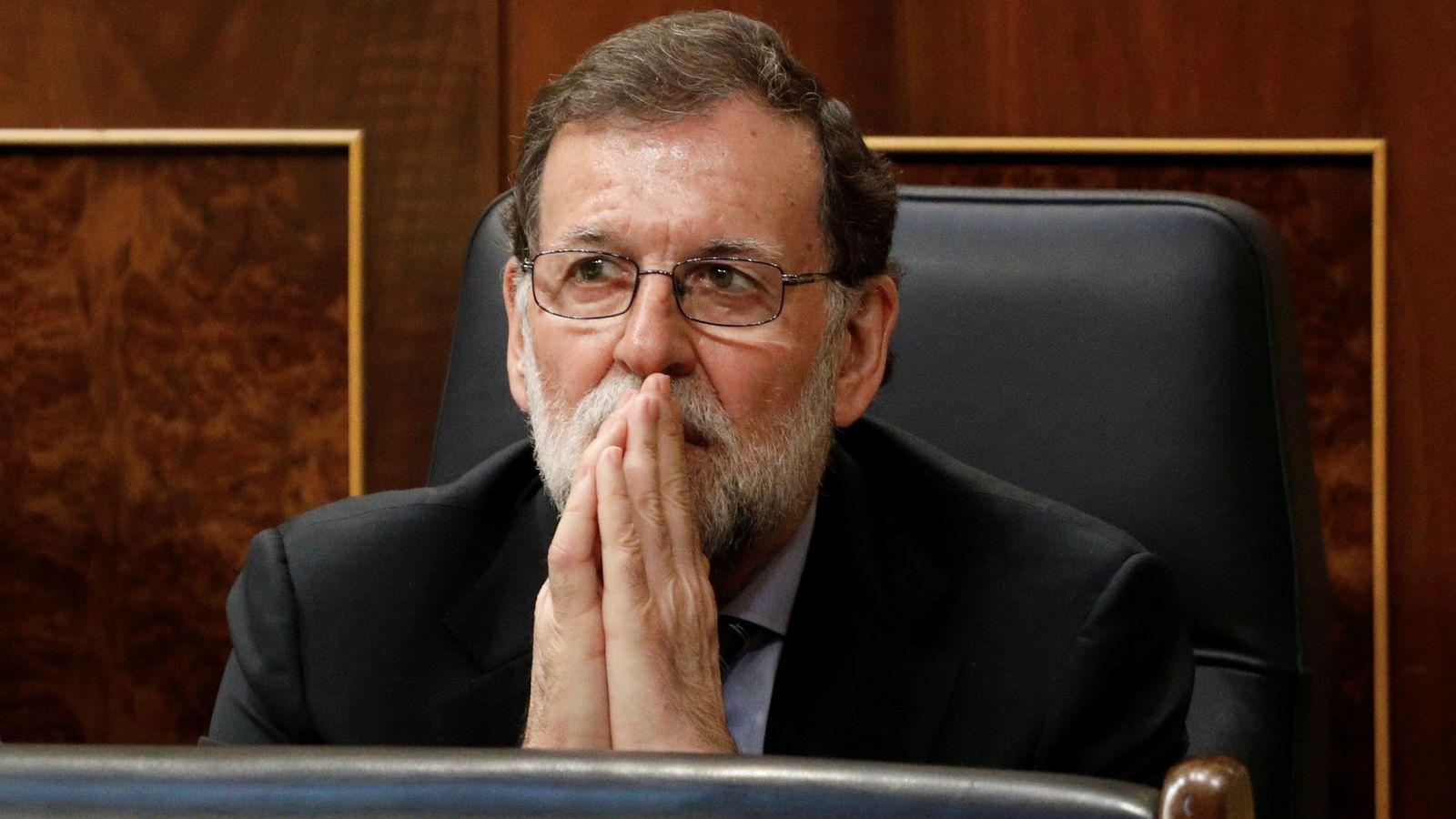 Foto: Mariano Rajoy en el Congreso. (Reuters)