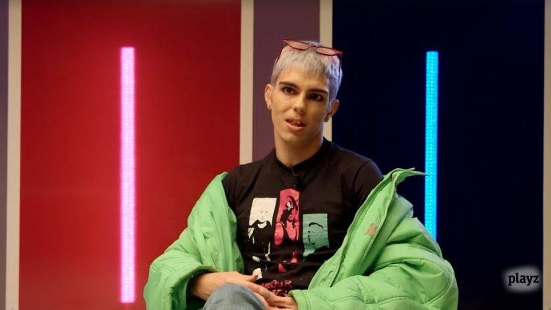 Samantha Hudson, en una entrevista para Playz. (RTVE)