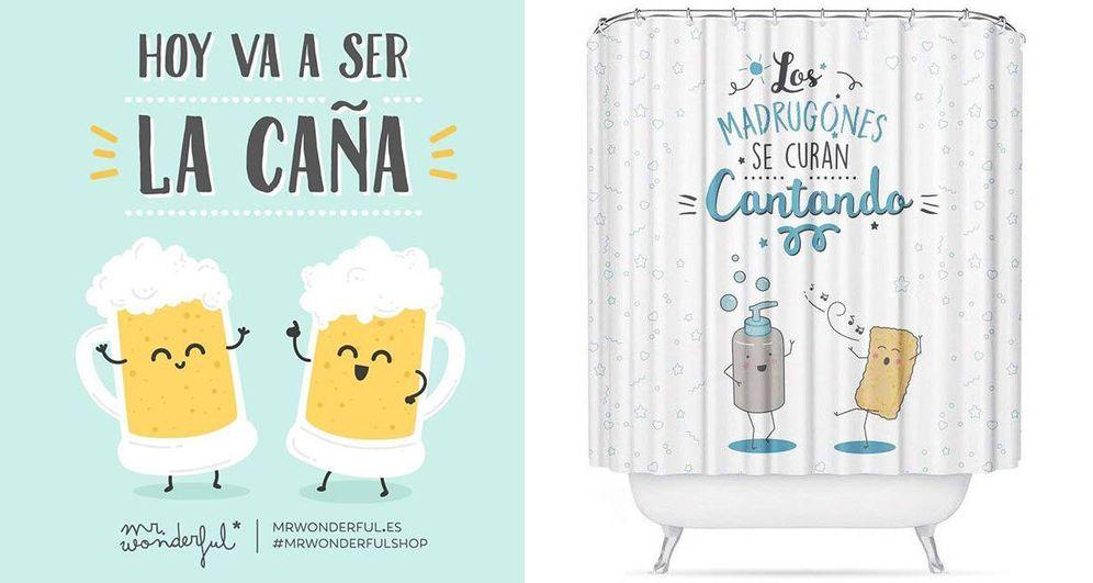 Foto: A la izquierda, diseño de Mr. Wonderful. A la derecha, diseño de D'casa.