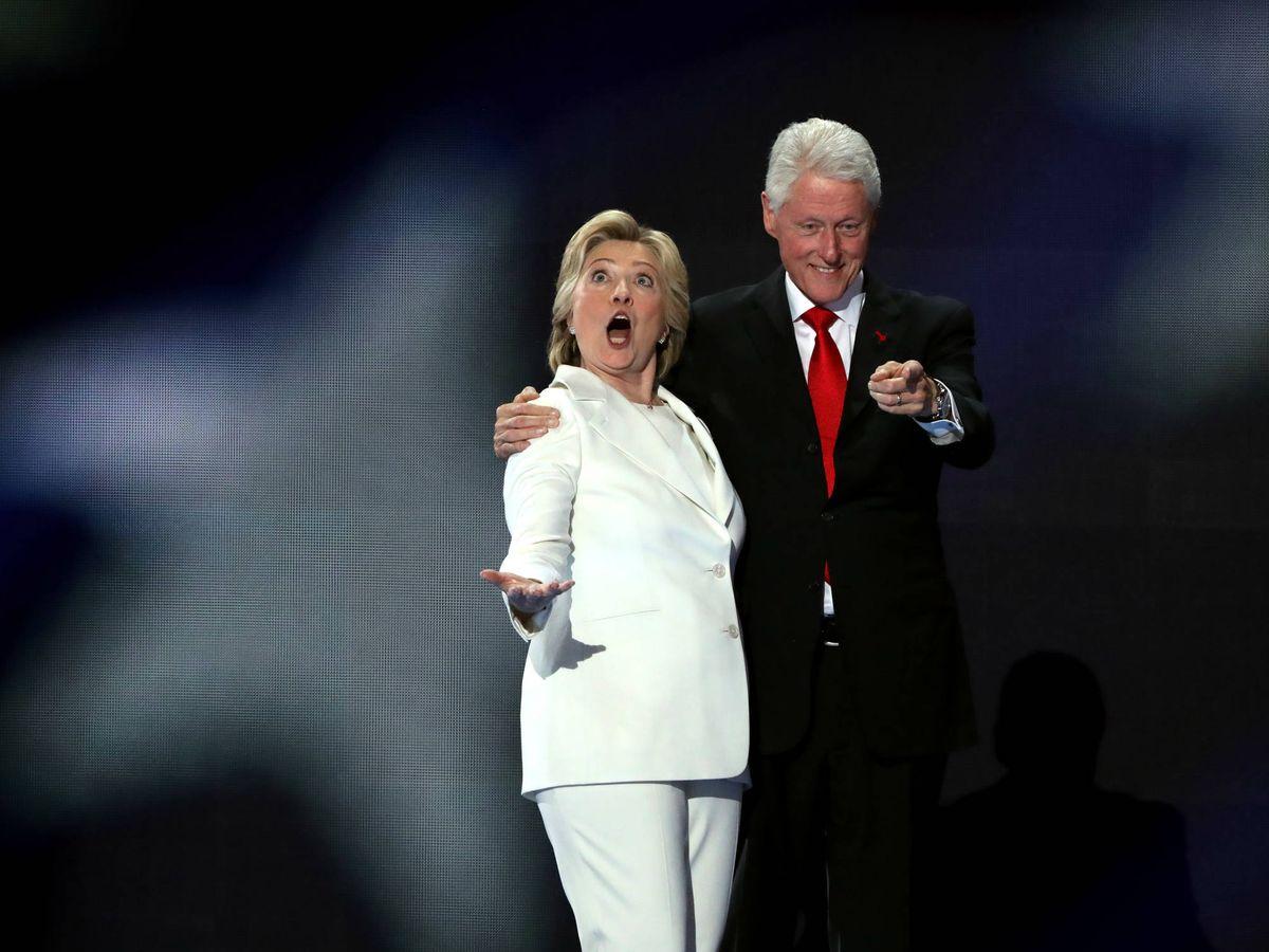 Foto: Los Clinton. (Getty)