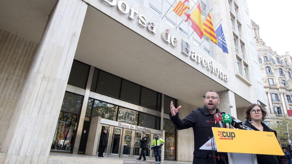 Foto: La CUP llama a tejer un frente antifascista ante la irrupción de Vox. (EFE)