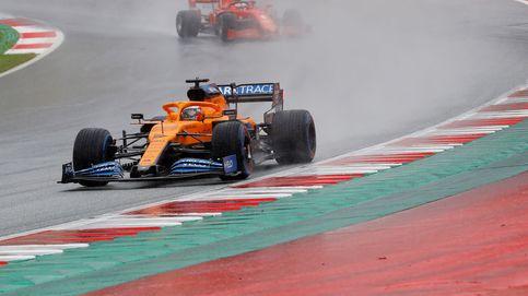 Carlos Sainz y Spa: pilotar un F1 en lluvia es como una pescadilla que se muerde la cola