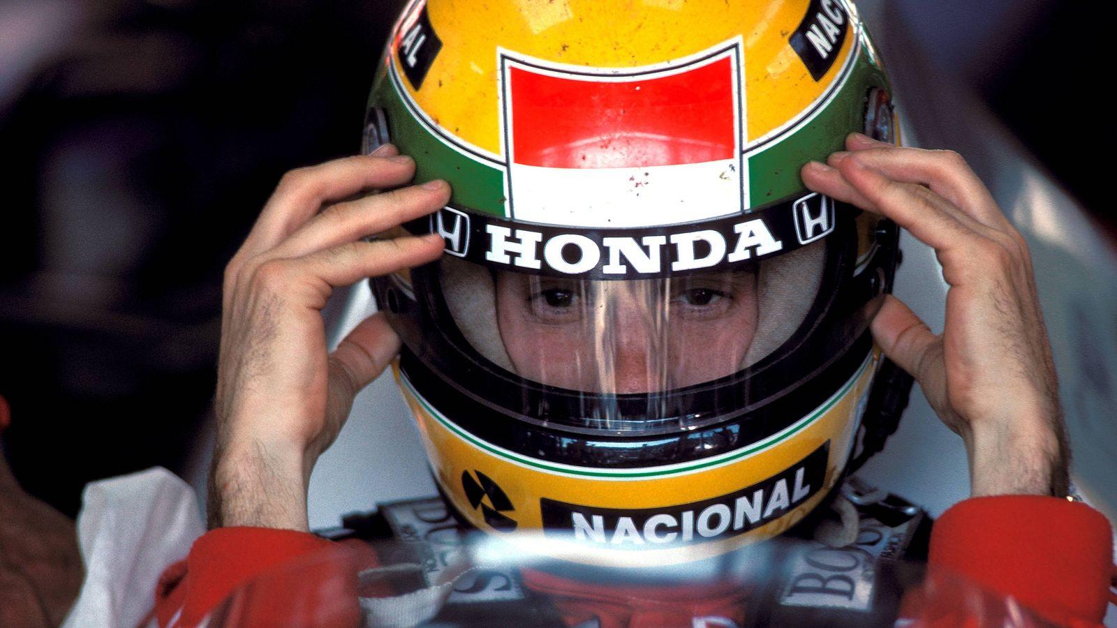 Foto: Ayrton Senna (Imago).