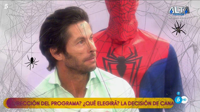 Canales Rivera, en 'Sálvame'. (Telecinco)