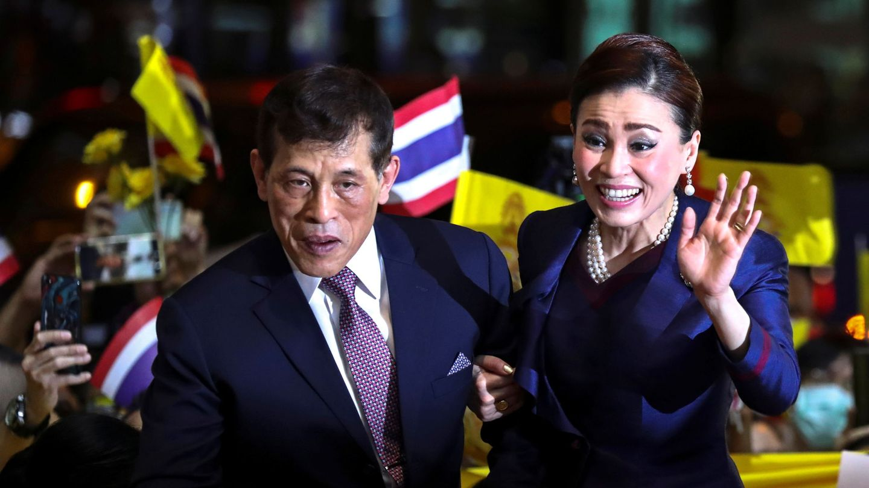 El rey y la reina de Tailandia. (Reuters)