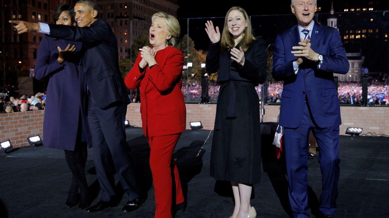 Foto: Cierre de campaña de Hillary Clinton. (Reuters)