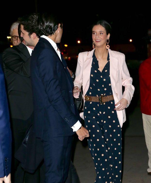 Foto: Victoria Federica a su llegada a Las Ventas. (Vanitatis)