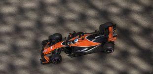 Post de  Alonso,  satisfecho por quedar fuera del Q3, y por la victoria de un McLaren