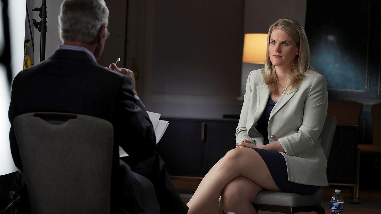 Frances Haugen, la denunciante 'anónima' de los 'Facebook Files'. (Reuters)