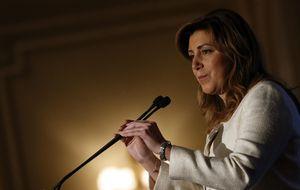 Susana Díaz, la 'my fair lady' que almuerza con Lara y enamora al Rey