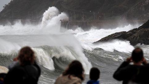 Al menos 18 provincias están en alerta naranja por lluvia, nieve, viento y oleaje