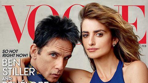 Penélope Cruz y Ben Stiller se ponen sexy para la portada de 'Vogue'