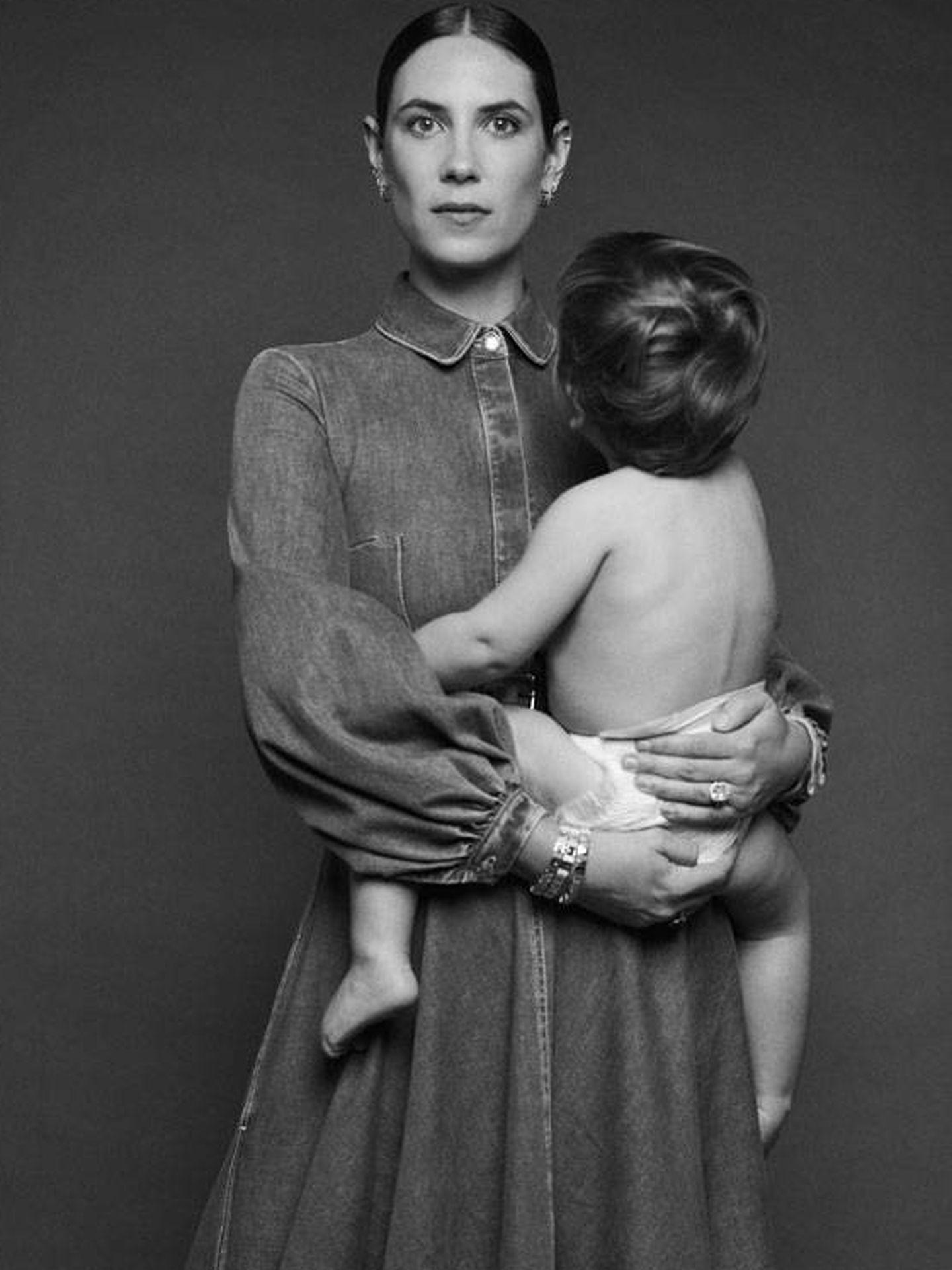Tatiana Santo Domingo y su hijo Maximilian. (Emilia Wickstead)