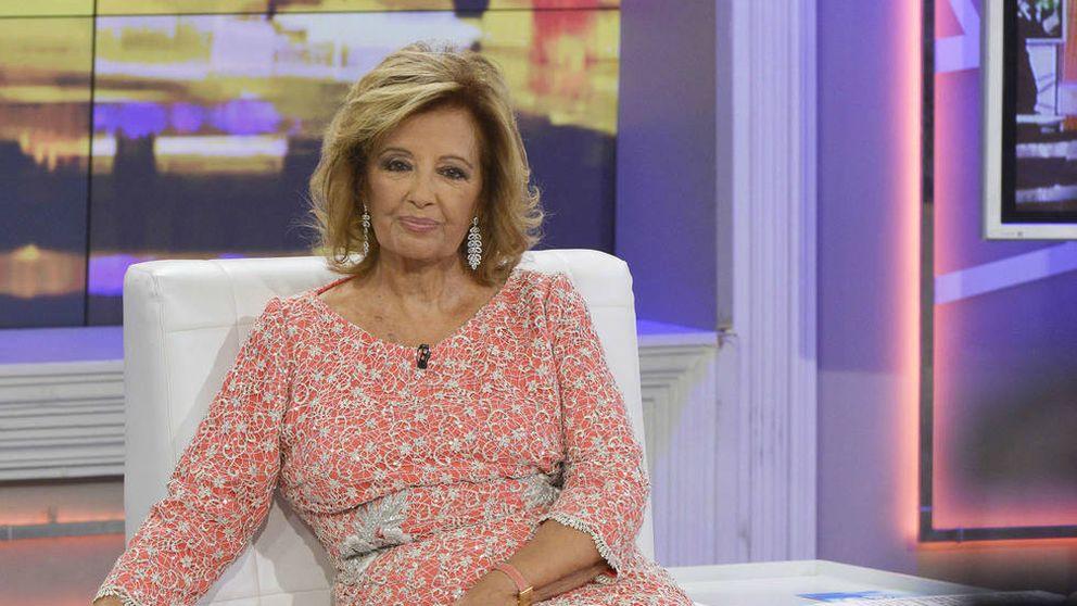 "Maria Teresa Campos estalla en directo en 'Sálvame': ""Estoy indignada"