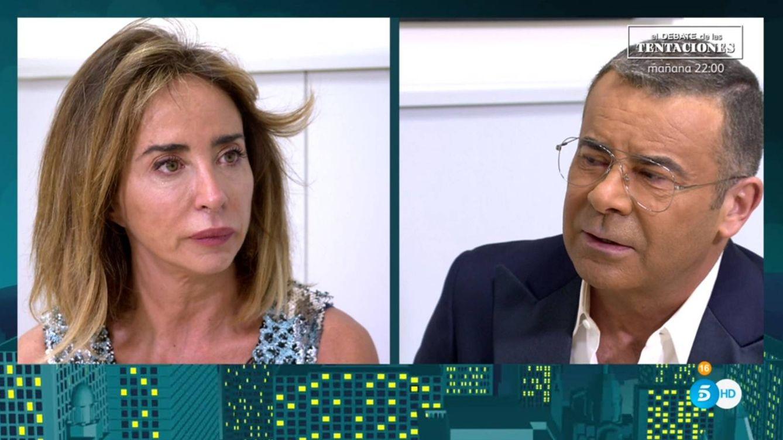 La rajada de María Patiño a Jorge Javier Vázquez por la puñalada de 'Sábado Deluxe': El programa me ha engañado