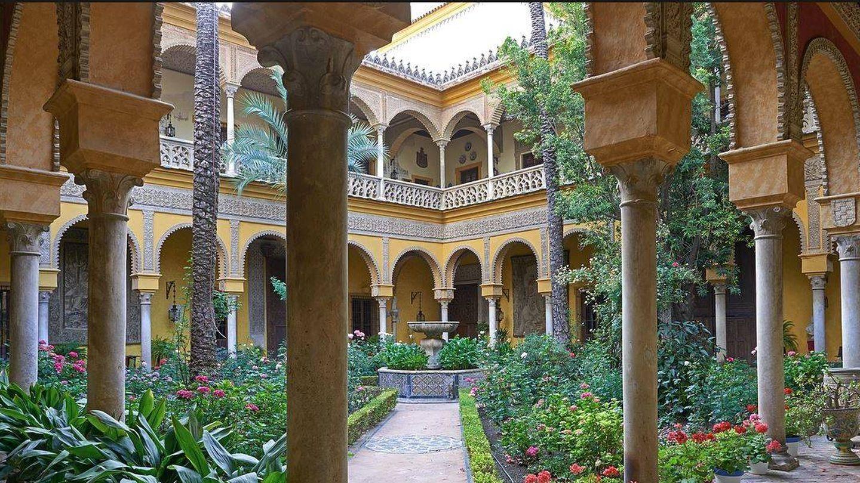 Patio central del Palacio de las Dueñas. (Fundación Casa de Alba)