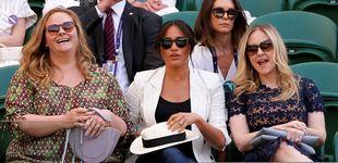 Post de Meghan marca distancia con Kate: en Wimbledon con amigas, dos días después