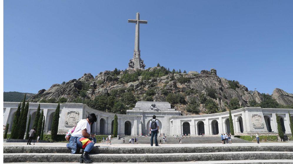 Foto: Vista general del monumento del Valle de los Caídos. (EFE)