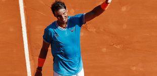 Post de El nivel imposible de Rafa Nadal y el saludo con su amigo 'Baby Federer'