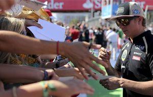 Kimi Raikkonen impresiona en su vuelta al 'Gran Circo'