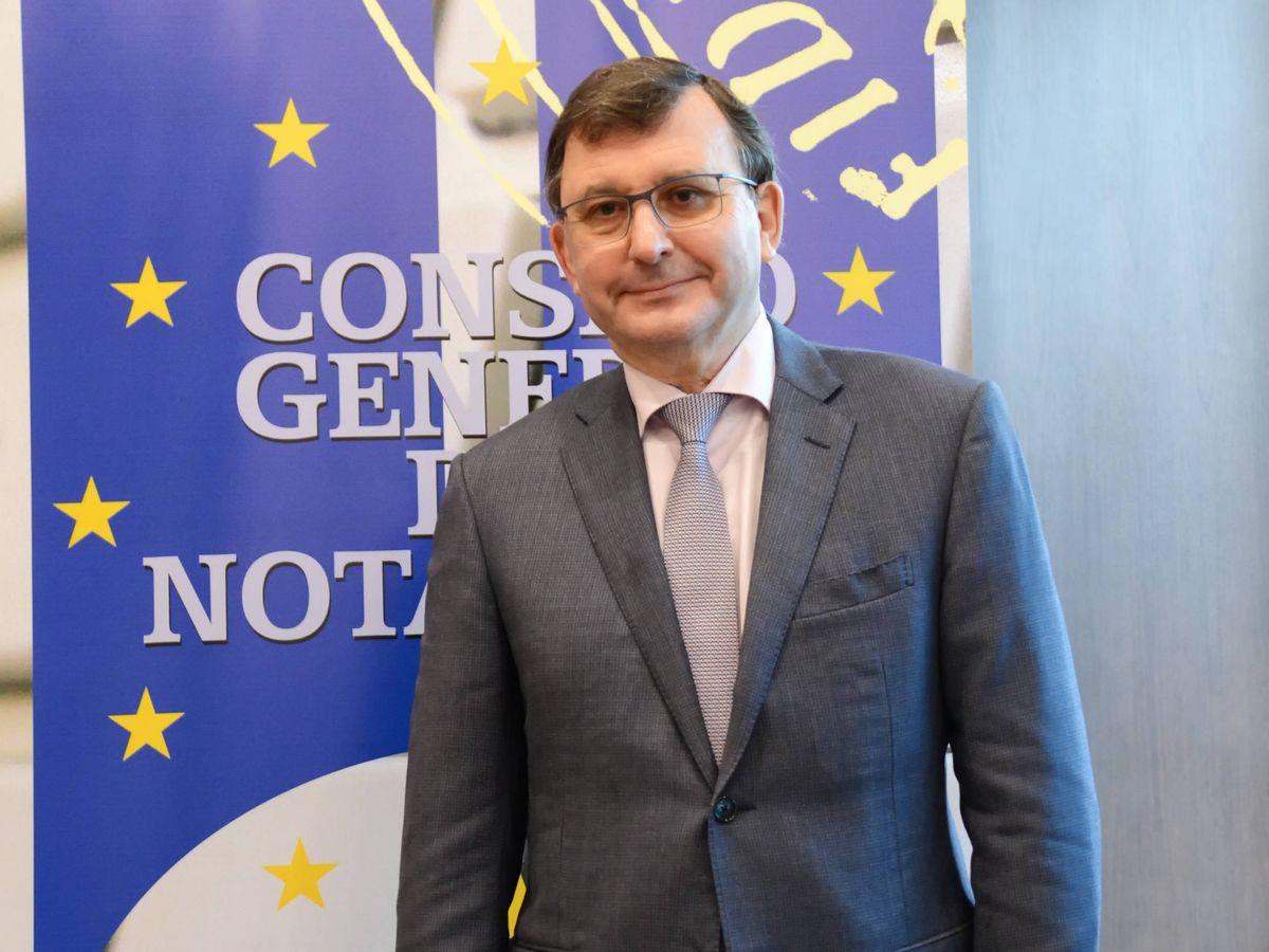 Foto: José Ángel Martínez Sanchiz, presidente del Consejo General del Notariado