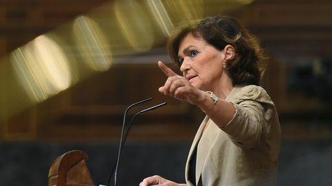Siga en directo la comparecencia de Carmen Calvo para informar sobre la crisis del Open Arms