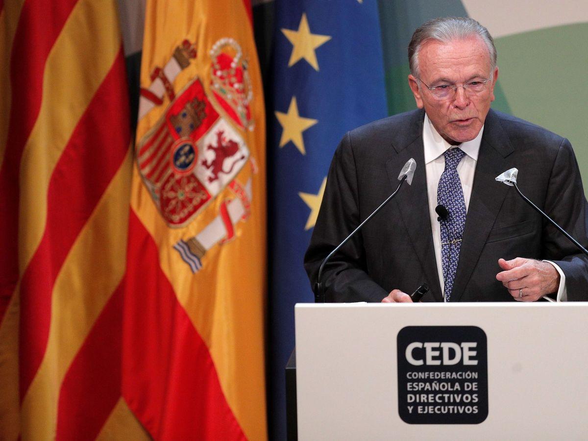 """Foto: El presidente de la Fundación Bancaria """"La Caixa"""", Isidro Fainé. (EFE)"""