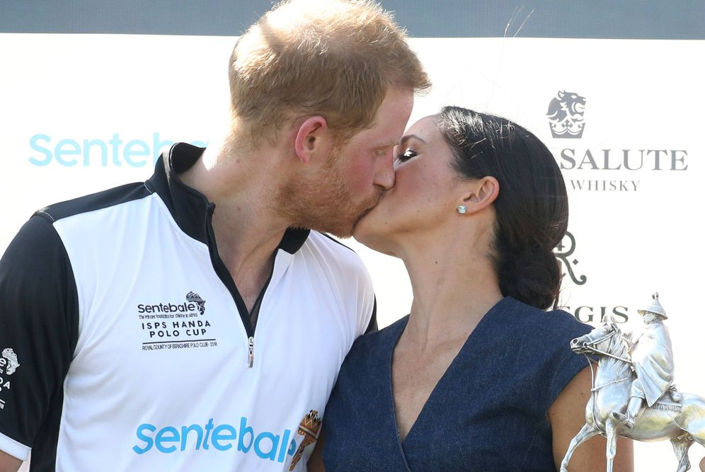 Foto: Es indudable que Meghan y Harry atraviesan por un momento dulce de sus vidas. (Getty)