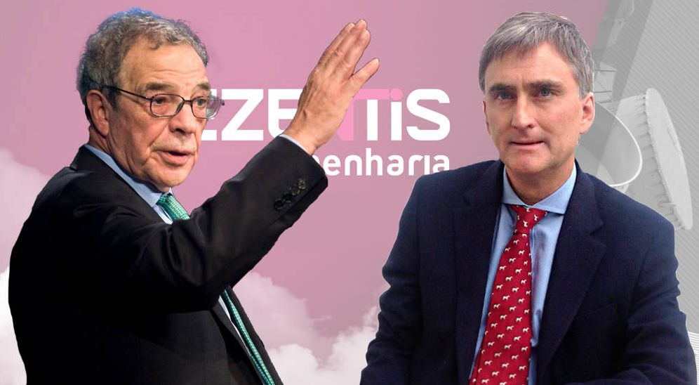Foto: César Alierta y Francisco García Paramés, pillados en Ezentis.