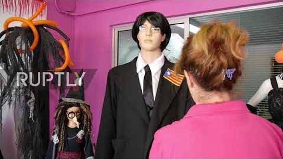 Puigdemont, el disfraz más terrorífico de Halloween
