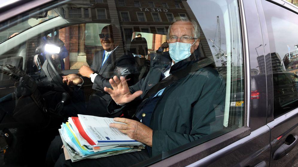 Foto: Michel Barnier, negociador europeo, durante una ronda de negociaciones en Londres. (Reuters)